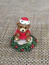 Wee Forest Folk - WFF Tiny Teddies Christmas Teddy Retired
