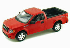 2010 Ford F-150 STX Red Pickup Truck 1:27 Diecast  w/Opening  Doors Tailgate