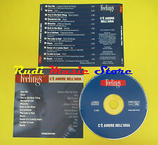 CD AMORE NELL'ARIA FEELINGS compilation PROMO 2003 CARS BLACK YES 10CC (C7) no m