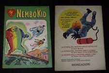 ***SUPERALBO NEMBO KID N. 9*** ED. MONDADORI 20 FEBBRAIO 1961