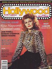 NOV 1988 HOLLYWOOD STUDIO vintage movie magazine RITA HAYWORTH