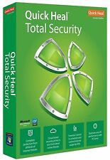 Quick Heal Total Security Antivirus 3 User ( 3 PC ) 1 Year Quickheal Latest