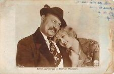 DM1339 Emil jannings esther ralston    verlag ross  14x8cm actors movie star