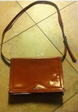 CRISTIAN Purse Italian Genuine Leather Brown •Messenger Style•