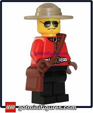 LEGO® RCMP CANADIAN MOUNTIE Police Guy minifig cop Exclusive minifigure Canada