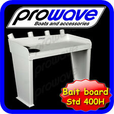 Fishing Bait board, 700W x 400H, 2 cup holders, painted