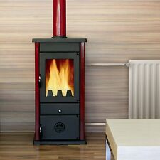 - JS 16kW Woodburning Stove with Back Boiler - Free Delivery to UK Mainland -