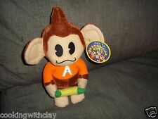 RARE AAAI MONKEY PLUSH DOLL FIGURE PROMO SEGA ARCADE GAME VIDEO MASCOT TOY