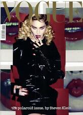 Magazine NEW Vogue Italia february 02 2017 Madonna Cover Polaroid add Kids