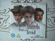 THE TIMES OR TELEGRAPH PROMO DVD- WHERE ANGELS FEAR TO TREAD - POPULAR FILM
