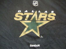 Vintage logo NHL Dallas Stars Hockey black YOUTH T Shirt L