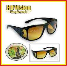 The Real Wrap Arounds Over Night Optic Vision Driving Anti Glare HD Glasses Xmas
