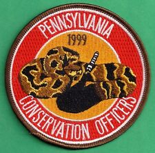 Pa Pennsylvania Fish Game Commission NAWEOA Related COPA 1999 Rattlesnake Patch