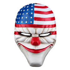 2016 Halloween PAYDAY 2 Dallas Mask Heist Joker Costume Props Cosplay Mask