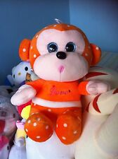 Gold Monkey Plush Soft Toy