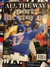 No Label SPORTS Illustrated Nov 3, 2016 CHICAGO WIN WORLD SERIES All The Way NEW