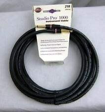 Monster Studio Pro 1000 Instrument  Cable 21 ft - New, Free Shipping