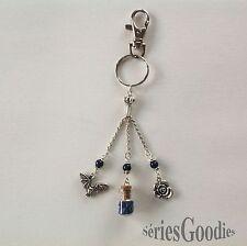 bIjou Créateur Vampire Celtique Diaries Bijou de sac-Porte clefs lapis lazuli