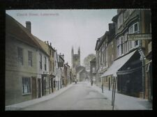 POSTCARD B41- LEICESTERSHIRE LUTTERWORTH - CHURCH STREET C1900'S