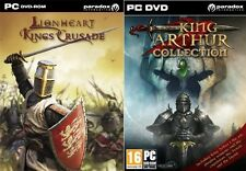 King arthur collection & lionheart kings crusade new & sealed