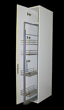 300MM PULL OUT LARDER UNIT - 1380 TO 1690 MM HIGH Soft Close