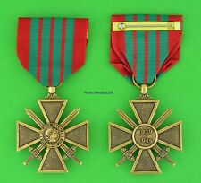 WWII FRENCH CROIX de GUERRE MEDAL WW2 - full size - made in the USA