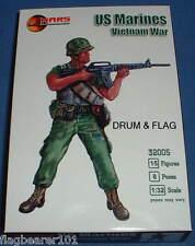 Mars 32005 US MARINES. guerra De Vietnam-escala 1/32 figuras de plástico sin pintar