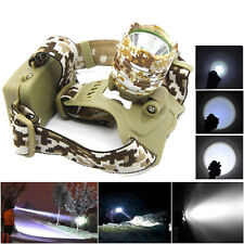 5000LM Cree XM-L T6 LED Headlamp HeadLight Lamp Light for Camping Fishing