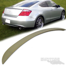 Unpainted ABS Honda Accord 8th 2D OE Rear Trunk Boot Spoiler 2012 EX LX-S