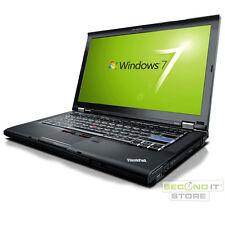Lenovo ThinkPad T410 Notebook Intel Core i5 2x 2,4 GHz 4 GB RAM 160 GB HDD Win7