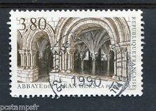FRANCE - 1990, timbre 2659, ABBAYE DE FLARAN, TOURISTIQUE, oblitéré