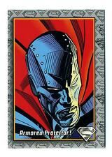 Skybox 1993 The Return of Superman Base Card #13 Armored Protector!