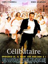 Affiche 40x60cm LE CELIBATAIRE /… BACHELOR 2000 Chris O'donnell, Zellweger NEUVE