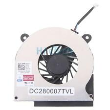 New 4-pin Practical Notebook CPU Cooling Fan for Dell Latitude E6400 Black