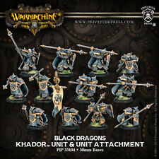Warmachine Hordes BNIB Khador Iron Fang Pikemen / Black Dragoons (12)