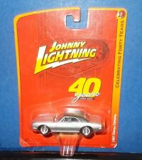 Johnny Lightning 40 Years 1969-2009 - 1967 SILVER CHEVY CAMARO 1:64 DIE-CAST