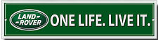 LAND ROVER UNA VIDA LIVE IT METAL SIGN.4X4xF ROADING.JEEP SEÑAL,SEÑAL DE TALLER