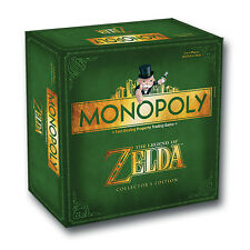 THE LEGEND OF ZELDA - Monopoly Collector's Edition Board Game (Winning Moves)