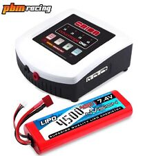 Team Orion ONE 405 AC/DC RC LiPo/NiMH Battery Charger + 4500 NVision LiPo Combo