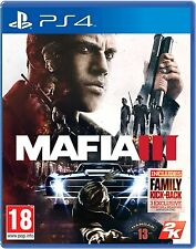 MAFIA III 3 + ALL BONUS DLC CONTENTS PS4 Game (BRAND NEW SEALED) IN STOCK