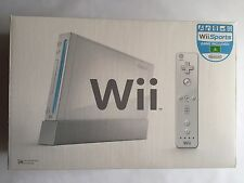 BRAND NEW NINTENDO WII CONSOLE - WII SPORTS - BACKWARDS COMPATIBLE - RARE