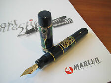 Marlen Vite Extra-Fine 14kt gold nib fountain pen MIB