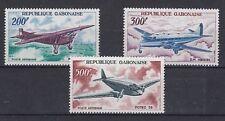 D. Flugzeuge   Gabun  273 - 75  ** (mnh)