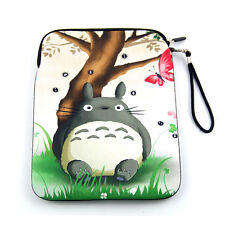 Totoro Soft Sleeve Bag Case Cover Pouch w/ Strap for Apple iPad Air 1 2 Ipad 4 3