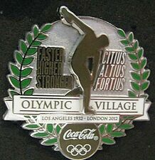 2012 rare LONDON Olympic Village LIMITED Coke  dated pin