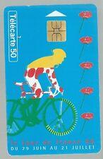 Télécarte carte téléphonique Tour de France 1996 cyclisme sport vélo bicyclette