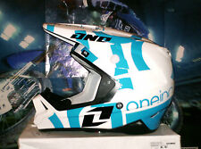 One Industries Gamma txt 1 Cross Casque enduro quad yamaha yz-f bleu blanc xl thor