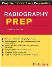 Radiography PREP Program Review And Exam Preparation Saia,D.A. Paperback