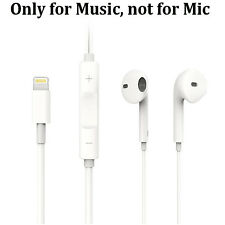 For iphone 6 /6S 7/7 Plus Earphone Wired Headset Volume Control Headphone Earbud