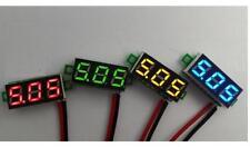 """10PCS 0.28"""" DC Digital Voltmeter Panel Mount LED Voltage Volt meter Red 2.50~30V"""